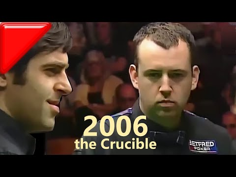 First meeting at the Crucible | Ronnie O'Sullivan vs Mark Williams | 2006 World Championship QF