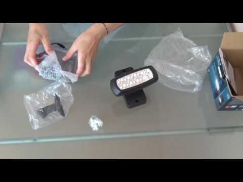 LED-Solar-Strahler - Unboxing Video