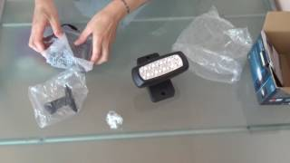 LED-Solar-Strahler - Unboxing Video