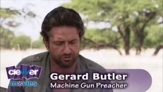 Gerard Butler 'Machine Gun Preacher' Interview