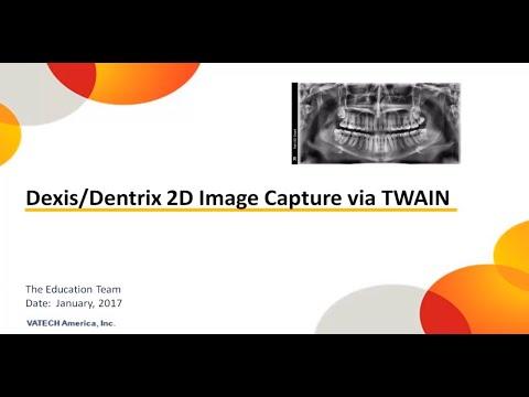 Dexis Dentrix Image Capture via TWAIN