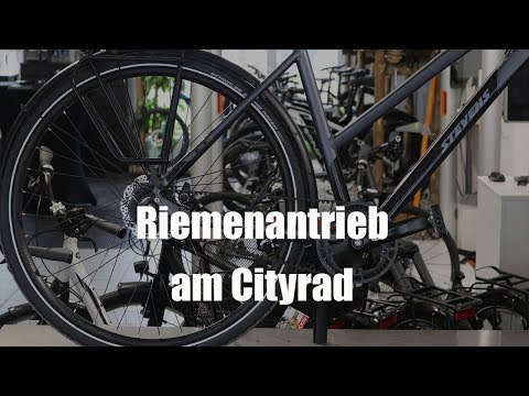Zahnriemen am Cityrad - vit:bikesTV 032