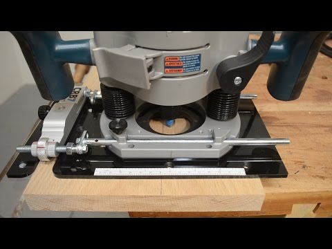 Micro-Adjust Your CRB7 Router Base