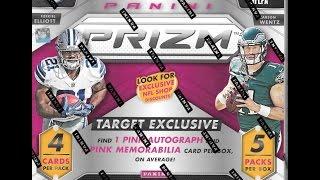 2016 Prizm Football Target Exclusive Retail Box Break 2 Hits!!