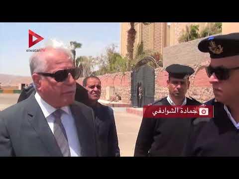 محافظ جنوب سيناء يتفقد الإجراءات الأمنية حول كنيسة النبي موسي بالطور