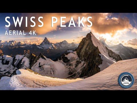 סרטון מדהים של פסגות שווייץ