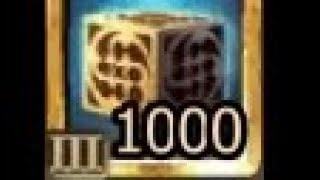 Drakensang online - Opening 1000 Cubes Test