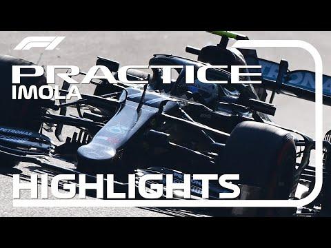 F1 第13戦エミリア・ロマーニャGP フリープラクティスハイライト動画