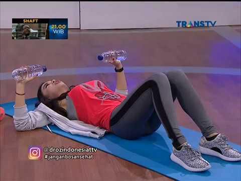 Anita olahraga untuk menurunkan berat badan