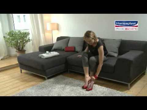 Hansaplast Foot Expert Repair and Care Schrundensalbe -- Anwendungsvideo