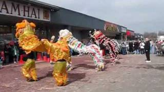 """A Very Special Presentation :"""" Lion Dance"""" , Celebrating The Chinese New Year -2010 in Tulsa`"""