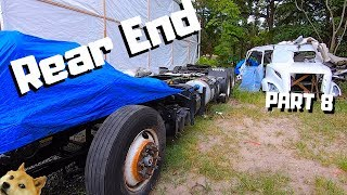 CRAZY REBUILD 2019 Volvo VNL SEMI Truck ROLLOVER Salvage Copart Project | Rear End Work | PART 8