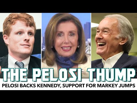 Pelosi's Endorsement Of Joe Kennedy Backfires, Helps Ed Markey