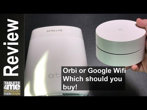 Orbi or Google Wifi: Which Mesh Network Works for You! C