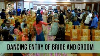 Bride and Groom Dancing Entry | Malhari | Tune Mari Entriyaan | Zingaat