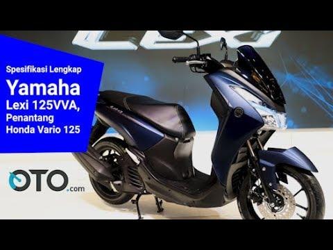 Spesifikasi Lengkap Yamaha Lexi 125VVA, Penantang Honda Vario 125 I OTO.com