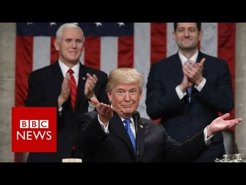 State Of The Union: 'Americans are dreamers too' Donald Trump – BBC News
