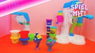 Eismaschinen Vergleich! Play Doh Riesensofteismaschine VS. Simba Art and Fun Eisdiele