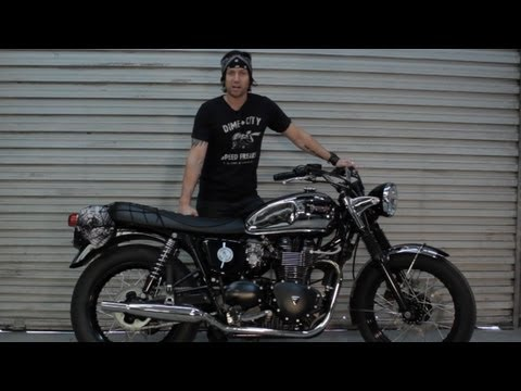 Dime City Cycles: The Distinguished Bonneville Triumph