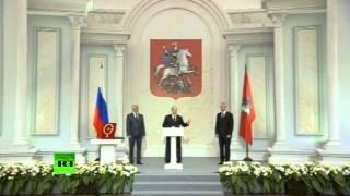 Путин: Собянин напрочь лишен чванства и зазнайства