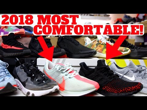 MOST COMFORTABLE SHOES IN 2018 SO FAR!