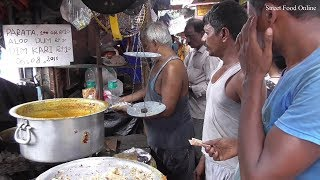 100 Gram Petai Paratha 10 Rs Only | Opposite NRS Hospital Kolkata