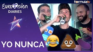 YO NUNCA con Miki Núñez en Eurovisión 2019: Sus secretos al descubierto