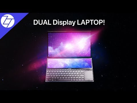 The DUAL DISPLAY Laptop - ASUS ZenBook Duo!