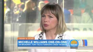 Michelle Williams: I haven't heard 'anything serious' about a 'Dawson's' reunion