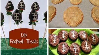 DIY Football Party Treats