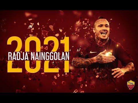 Radja Nainggolan - New Role - AS Roma's Legend - Amazing Goals, Skills, Passes, Tackles - 2017 - HD