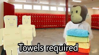 Help me from naked guys | Towel Required