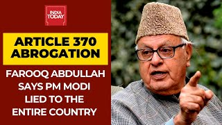 PM Modi Misled Not Only Me But The Entire Country Over Revoking Article 370: Farooq Abdullah - Download this Video in MP3, M4A, WEBM, MP4, 3GP