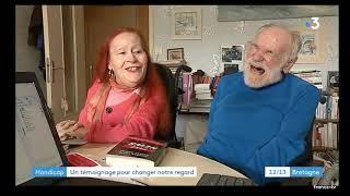 Interview de Gildas et Marie Claude sur FR3 Bretagne