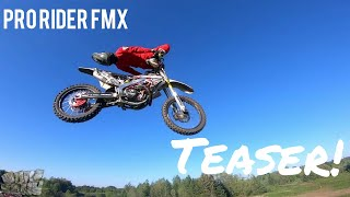 Pro Rider Freestyle MX Teaser! FPV FREESTYLE MOTOCROSS