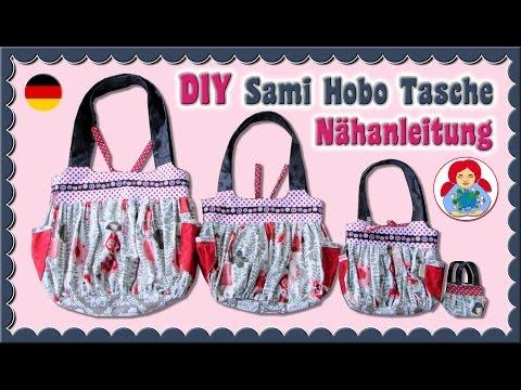 DIY | Nähanleitung: Handtasche/ Hobo Tasche | Sami Doll Tutorials