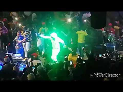 Toni mix feat florance Santiago de Chile festival 2ème édition