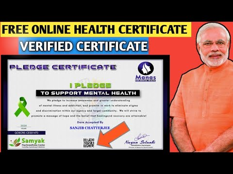 Medical Health Free Online Certificate   Free Course - YouTube