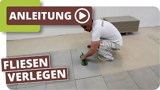 Fliesen verlegen -  planeo DIY Tiles