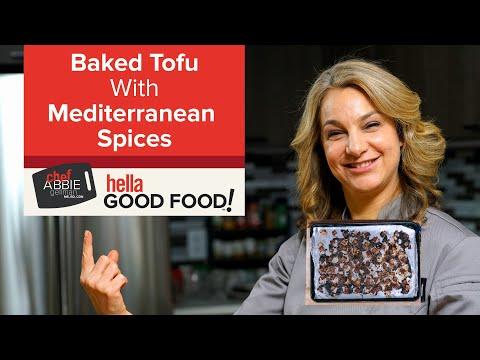 Easy Baked Balsamic Tofu