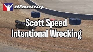 Scott Speed Intentional Wrecking | Kholo.pk