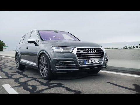Audi  SQ7 TDI Паркетник класса J - тест-драйв 1
