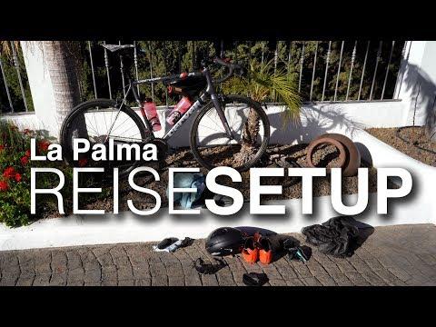 Mein Rennrad-Setup auf La Palma: Cervelo R3, Zipp 202, Dura Ace Di2, Restrap Bag, Elemnt Bolt