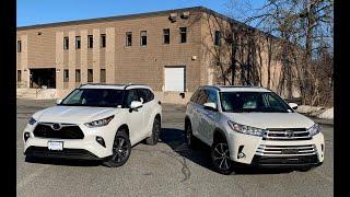 Head To Head, Toyota Highlander XLE 2019 vs 2020