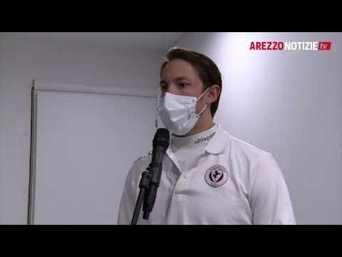 Mantova-Arezzo 2-0, intervista a Sala
