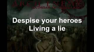Despicable Heroes - ARCHENENMY - Lyrics - 2003