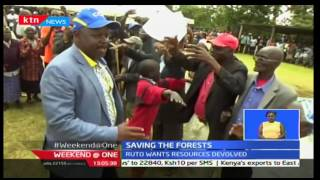 Weekend at One: Saving the forest; Issac Ruto wants resources devolved 15/01/2017