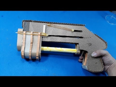 How To Make A Paper Shotgun That Shoots Bullets - benelli m3 super 90-[Piece of Paper]