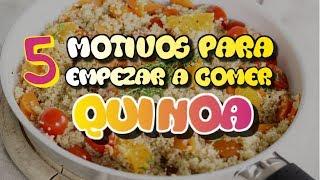 Razónes para consumir Quinoa