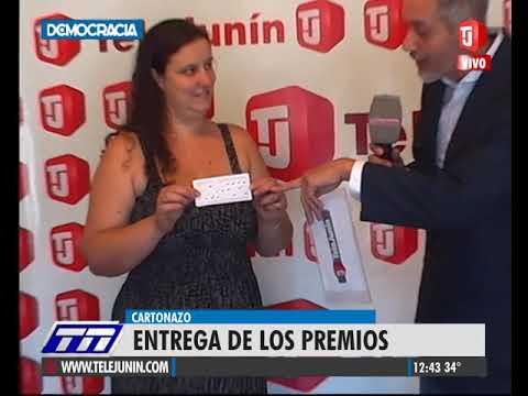 Cartonazo: el premio récord de 112 mil pesos se repartió entre tres ganadores